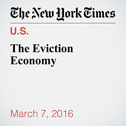 The Eviction Economy cover art