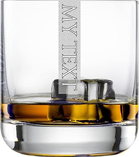 Miriquidi Individuelle Gläser 2er Set Serie Cool mit Gravur | 300ml Schott Zwiesel Convention Nr. 60 Glas | Spülmaschinenfest | Whisky CoolGlas 2 Stück