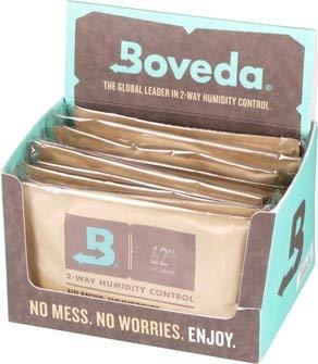 kogu Boveda Humidipak 62% 67 g - 4 Packungen inkl. J. Hülle