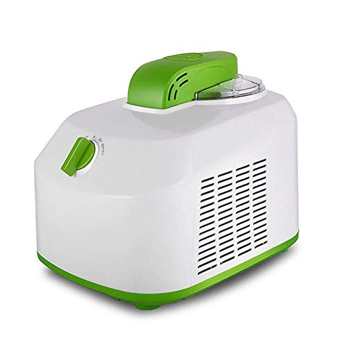CJF Máquina de Helado de Sirviente Suave sin refrigeración previa, máquina de Yogur congelada en Gelato, máquina de Yogur congelado, creador de Helados para el hogar con congelador Blanco HMP