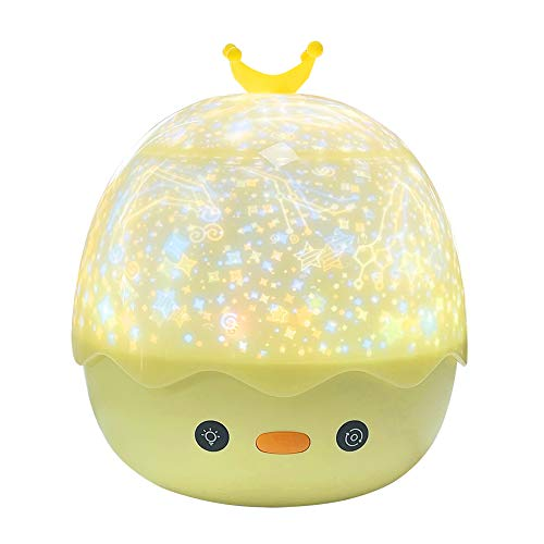 Night Light Projector for Kids, Remote Control Star Projector with Timer and Music, 360 Degree Rotation Galaxy Projector, Decorating Bedroom Party, Best Gift for Baby Children