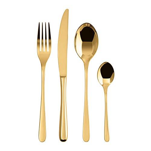 Sambonet Taste PVD, Servizio Posate 24 pezzi Gold