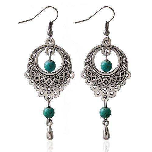 walaka pendientes con femme-bijoux Vintage pendientes–Gancho Stud Pendientes Regalo