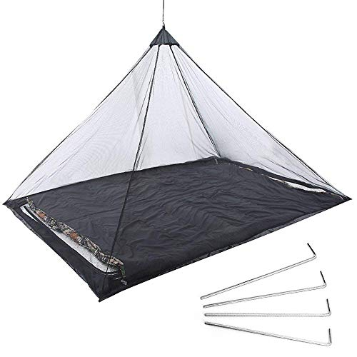N /A Mosquitera Wwceem Red de Viaje para Cama de Camping Individual...