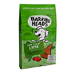 """100% NATURAL GRASS-FED LAMB - Our Chop Lickin' Lamb dry dog food is made for dogs with 100% natural grass-fed lamb blended with a seriously yummy combination of garden veg and herbs, this lamb dinner isn't called chop lickin"""" for nothing! NATURAL ING..."""