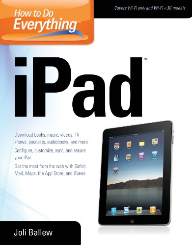How to Do Everything iPad (English Edition)