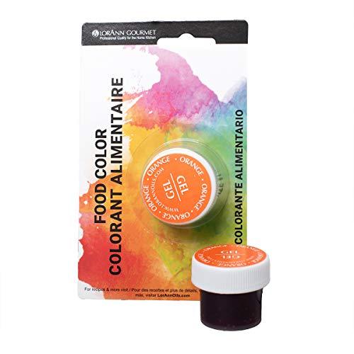Lorann Oils Gel Food Coloring, 1/2-Ounce, Orange by LorAnn O