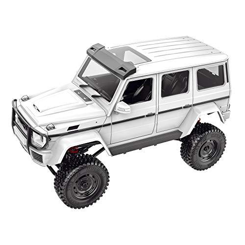 lahomia G500 Crawler Off Road Truck WPL MN RC Car 1/12 DIY RC Modelo para Niños Adultos - Blanco