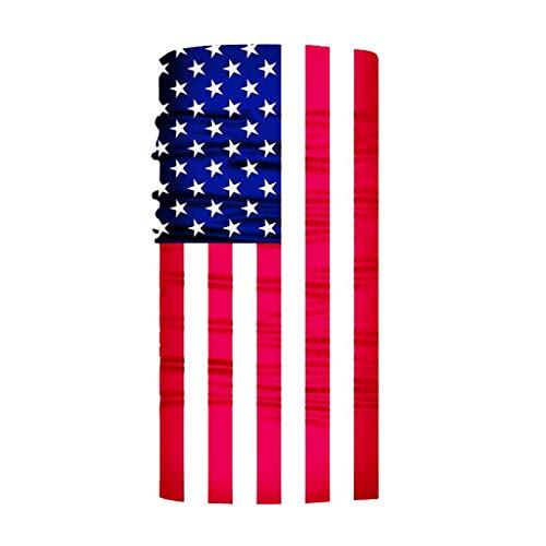 GEORGES Multifunktionstuch Halstuch in vielen verschiedenen Designs vielseitig einsetzbar | Sturmhaube | Schlauchschal | Stirnband | Piratentuch (USA)