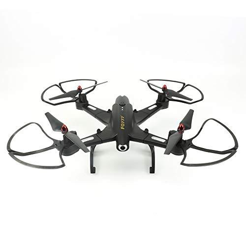 RC Mini Drone Plegable Regalo para Niños/Adultos Drones con Camara con Larga Duracion de Batería Gran Angular Drone,Negro