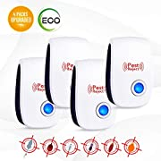 Snoogg Ultrasonic Pest Repeller-2018 Electronic Pest Repellent
