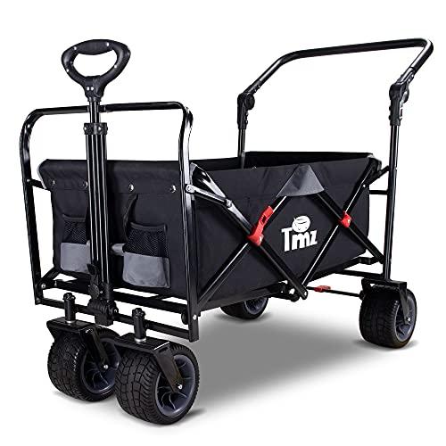 All Terrain Utility Folding Beach Cart from TMZ