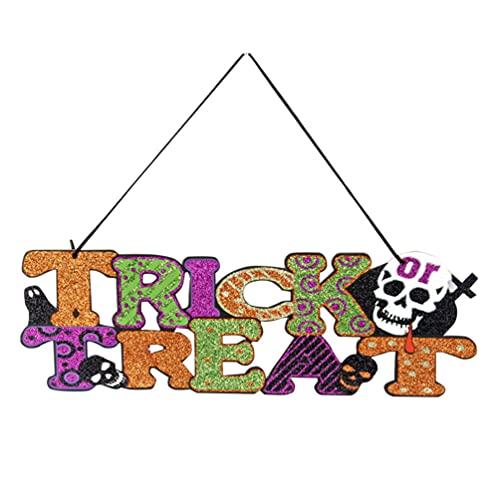 IMIKEYA Decoraciones de Halloween Accesorios Colgante Etiqueta Centro Comercial Ventana Bar KTV Fantasma Festival Escena Diseño
