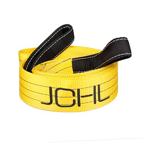 JCHL Tree Saver Strap, 3 inchX9 Foot Winch Strap, Tow Strap, Heavy Duty 36,000 Pound Capacity