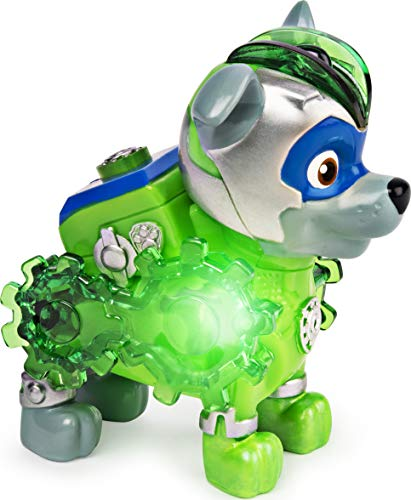 La Patrulla Canina 6055929 - Figura de Mighty Pups Charged Up de Juguete Infantil, diseño Aleatorio