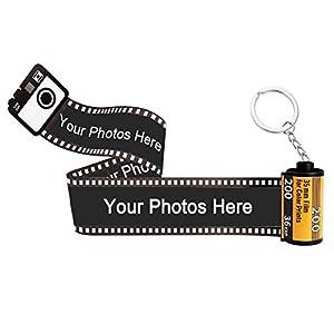 Álbum de fotos de películas personalizadas, llavero de regalo, ideal para regalo