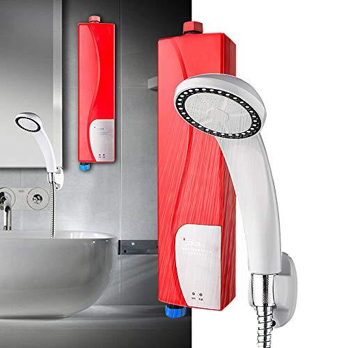 220V 3KW Elektrischer Tankless Durchlauferhitzer Warmwasserbereiter Sofortige Küche Badezimmer Warmwasserspeicher mit Dusche Water Heater