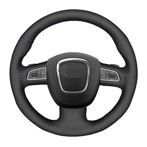 NIUASH Accesorios Interiores de la Cubierta del Volante del Coche, para Audi...