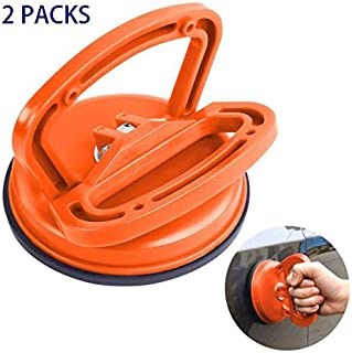 Car Dent Vacuum Suction Cup, 2 Pack, Glass Lifter with Handle 4.5