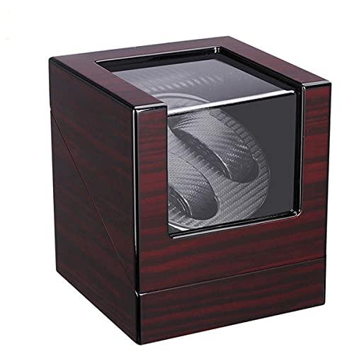 LYLSXY Reloj Automático Winder 5 Modelos De Rotación, Súper Tranquilo Cuero De La PU Windering Winder Butder Caja