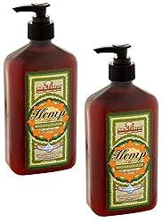 professional Malibutan Body Lotion for Dry Skin Hemp Moisturizer, 18 fl oz – 2 packages