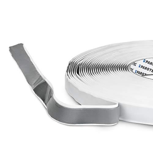 3mm stark 15/30/50/100mm breit Butylband Butylklebeband Dachabdichtung