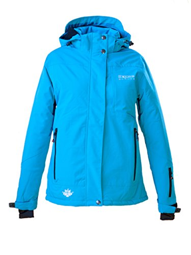 Deproc Active Damen Winterjacke und Outdoorjacke Montreal Neues Modell Jacke, Turquoise, 42.0