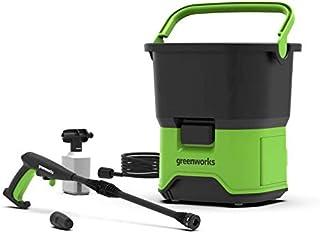 Greenworks Cordless High-Pressure Cleaner GDC60 (Li-Ion 60 V, Motor Power 650 Watts, Pressure 70 Bar, 200 l/h Flow Rate, 2...