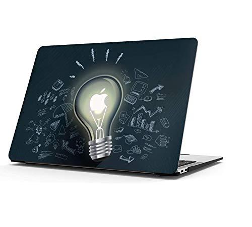 AOGGY Coque MacBook Pro 13 Pouces 2012/2013/2014/2015 Version A1425/A1502(avec écran Retina),Coloré Pattern Plastique Coque Rigide - Idées