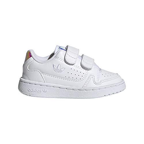 Zapatillas adidas NY 90 CF Blanco Brillo de bebé. 27