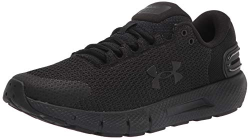 Under Armour Men's Charged Rogue 2.5 Road Running Shoe, Black/Black/Black (002), 11 UK