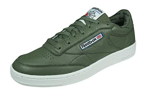 Reebok Club C 85 So, Zapatillas de Deporte Hombre, Verde (Hunter Green/Primal...