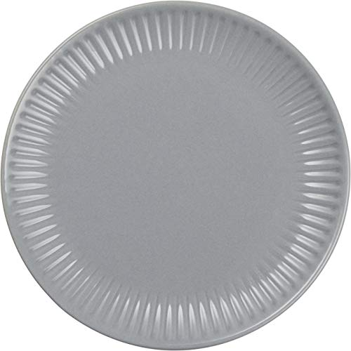 IB Laursen Frühstücksteller, Brotteller MYNTE French Grey grau D. 19,5cm