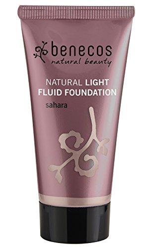 benecos - Natural Light Fluid Foundation Sahara 30ml