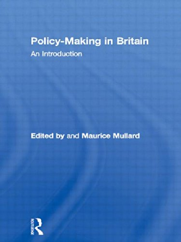 Policy-Making in Britain: An Introduction