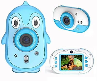 Kids Camera, LSLYA Cute Light Camera for Toddler, Best Birthday Gifts for Boys Age 3-12, 2.4 inch HD Screen Kids Video Camera, 3M Waterproof Selfie Camera for Kids, and Toys for Kids from LSLYA