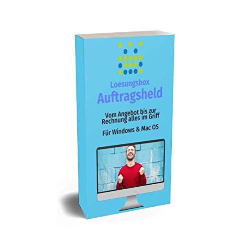 Loesungsbox Auftragsheld - Flexible Bürosoftware für Selbstständige & kleine Unternehmen (Windows & Mac OS) - ab 20€ Jahresgebühr inkl. Support