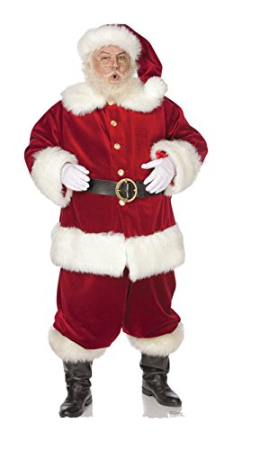 Advanced Graphics Ho! Ho! Santa Outdoor Life Size Standup Yard Sign - for Outdoor Use