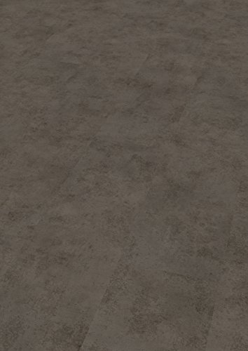 EGGER Home Laminat anthrazit Steinoptik - Chicago Concrete dunkel grau  EHL001 (8mm, 2,533 m²) Klick Laminatboden | Bodenbelag im Beton-Stil