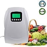 Verduras Frutas XYYMC Generador de Ozono Dom/éstico Digital,Ozonizador Negative Ion purificador de Aire Limpieza y desinfecci/ón Dispositivo para el Agua etc