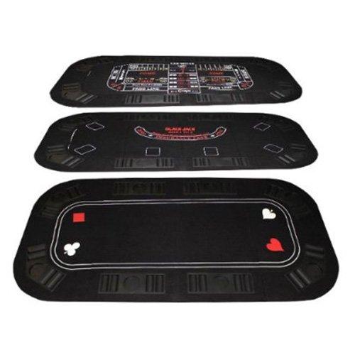 Brybelly 3-in-1 Poker & Casino Tischplatte klappbar