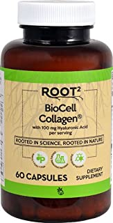 Vitacost Hyaluronic Acid with BioCell Collagen II - 100 mg per Serving - 60 Capsules
