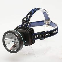 Buiten high-power flashlight 3 White Night Fishing Easy Headlight Lamp opladen 5LED (Color : E)