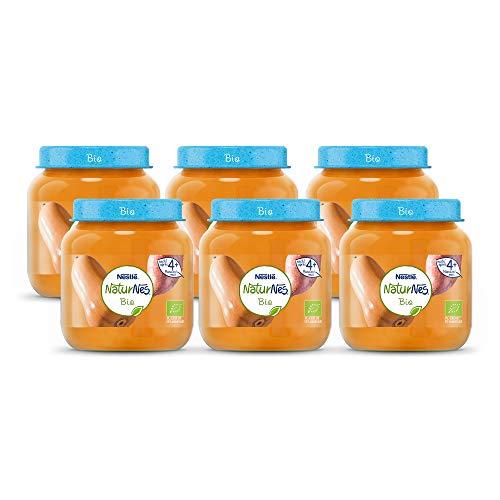 Naturnes Bio Pompoen, Zoete Aardappel 4+ maanden babymaaltijd - 6 potjes van 190 gram