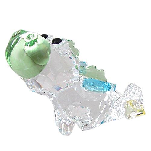 Swarovski draak, kristal, meerkleurig, 4,4 x 4,6 x 4,7 cm