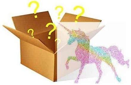 MYSTERY Magical Unicorn Box - Dem Einhornwahn folgend Du findest eine Auswahl von 7 Einhorn-Goodies in deiner geheimnisvollen Box
