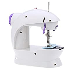 Multi Electric Mini 4 in 1 Desktop Functional Household Sewing Machine, Mini Sewing Machine, Sewing Machine for Home Tailoring, Mini Sewing Machine for Home,Smart Home Kitchenware Appliance