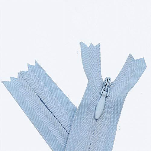 50pcs 3# 15cm 28cm 35cm 50cm 60cm 65cmNylon Coil Unsichtbare Reißverschlüsse für...