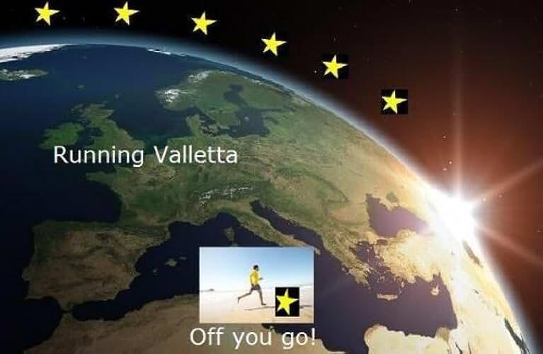 Running Valletta (Running the EU Book 24) (English Edition)