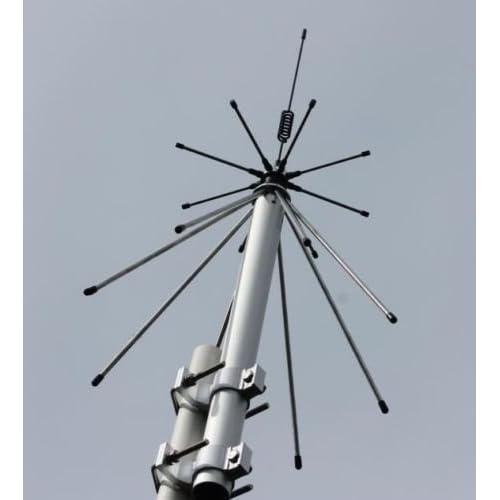 MFJ 1866 Vertical  Discone Ham  Scanner Base Antenna 25-1300 Mhz SO-239 Wideband
